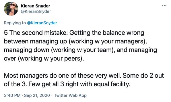 Kieran Synder tweet