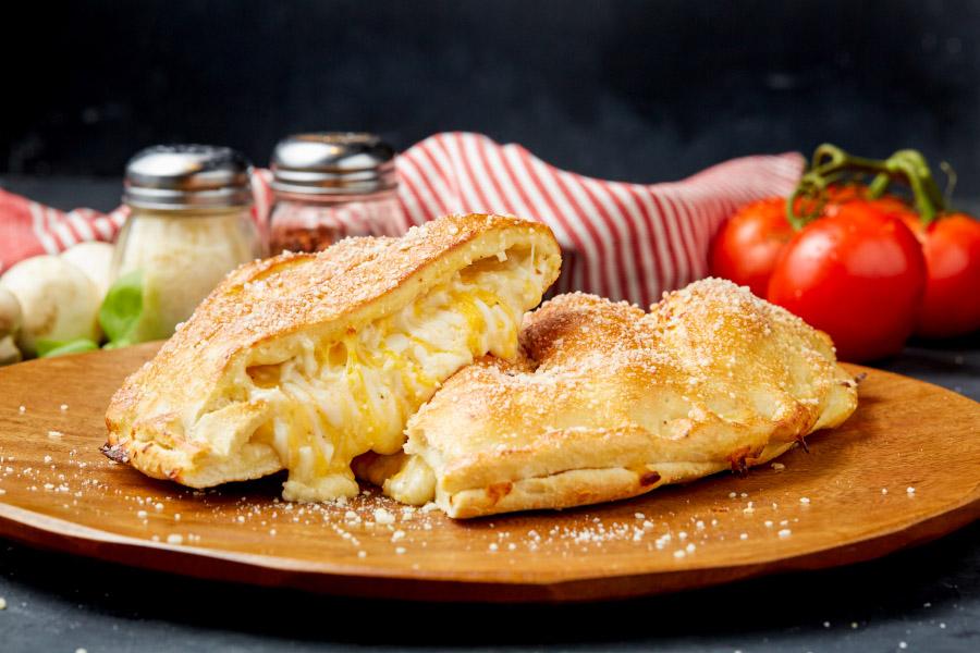 Triple Cheese Calizone