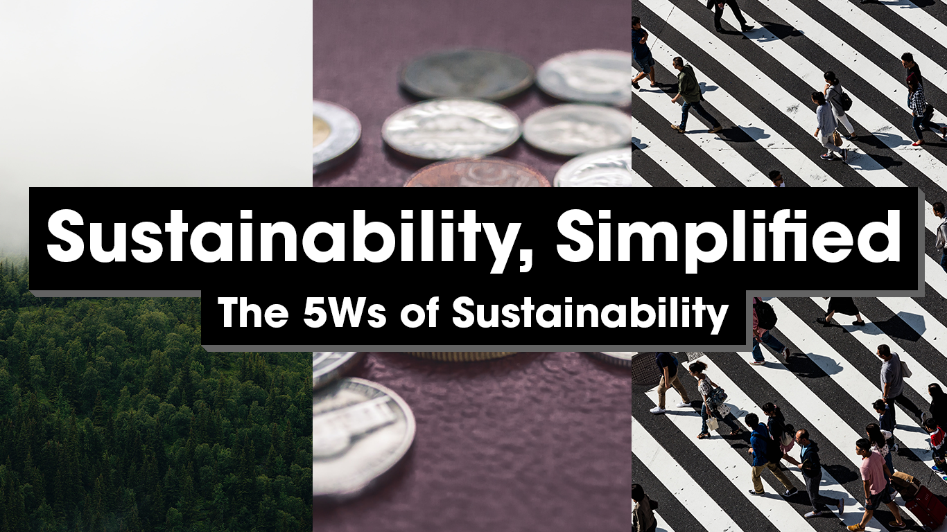 Sustainability simplified