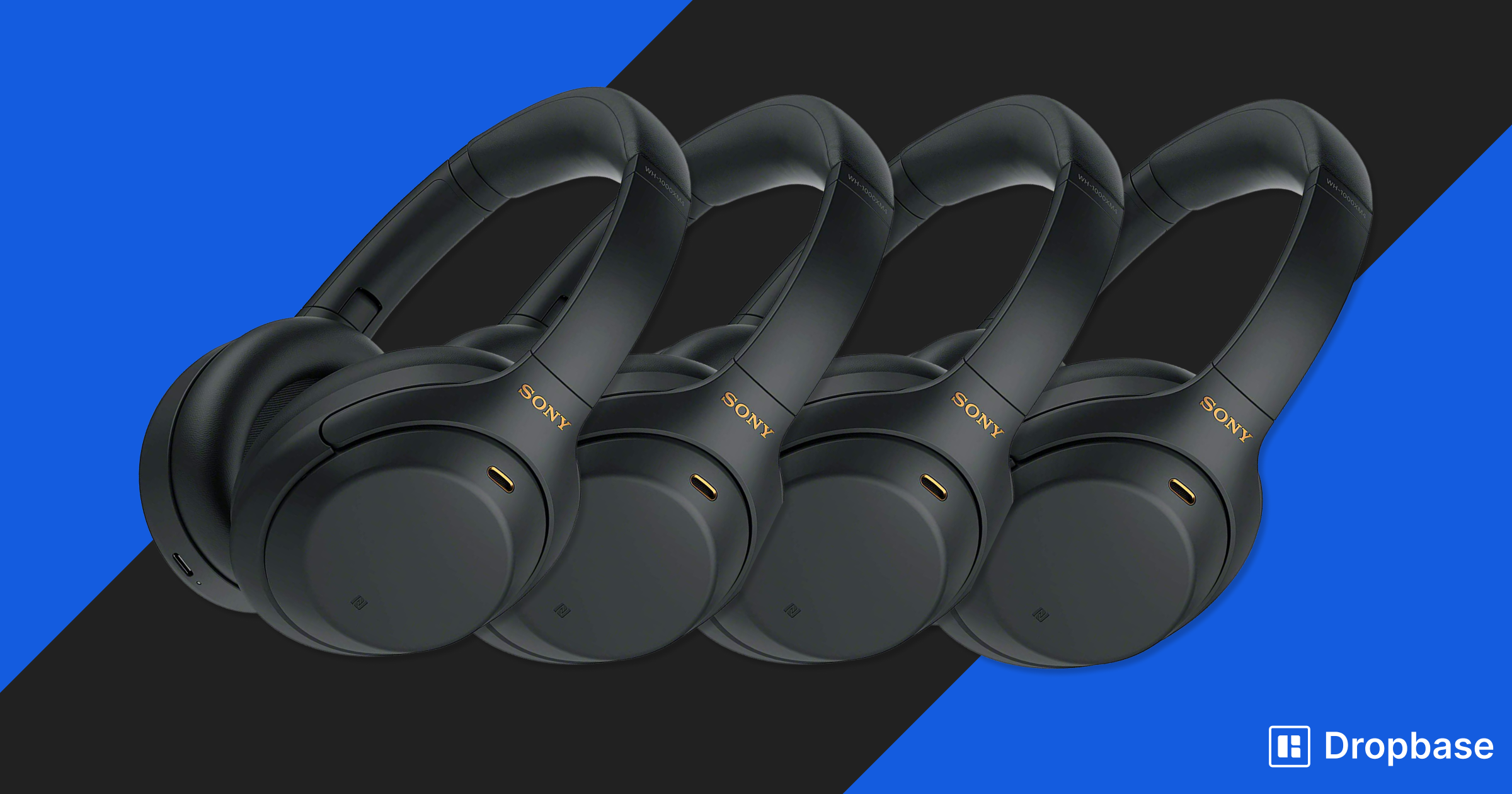 Dropbase API Challenge Prize: Sony XM4 Noise Cancelling Headphones