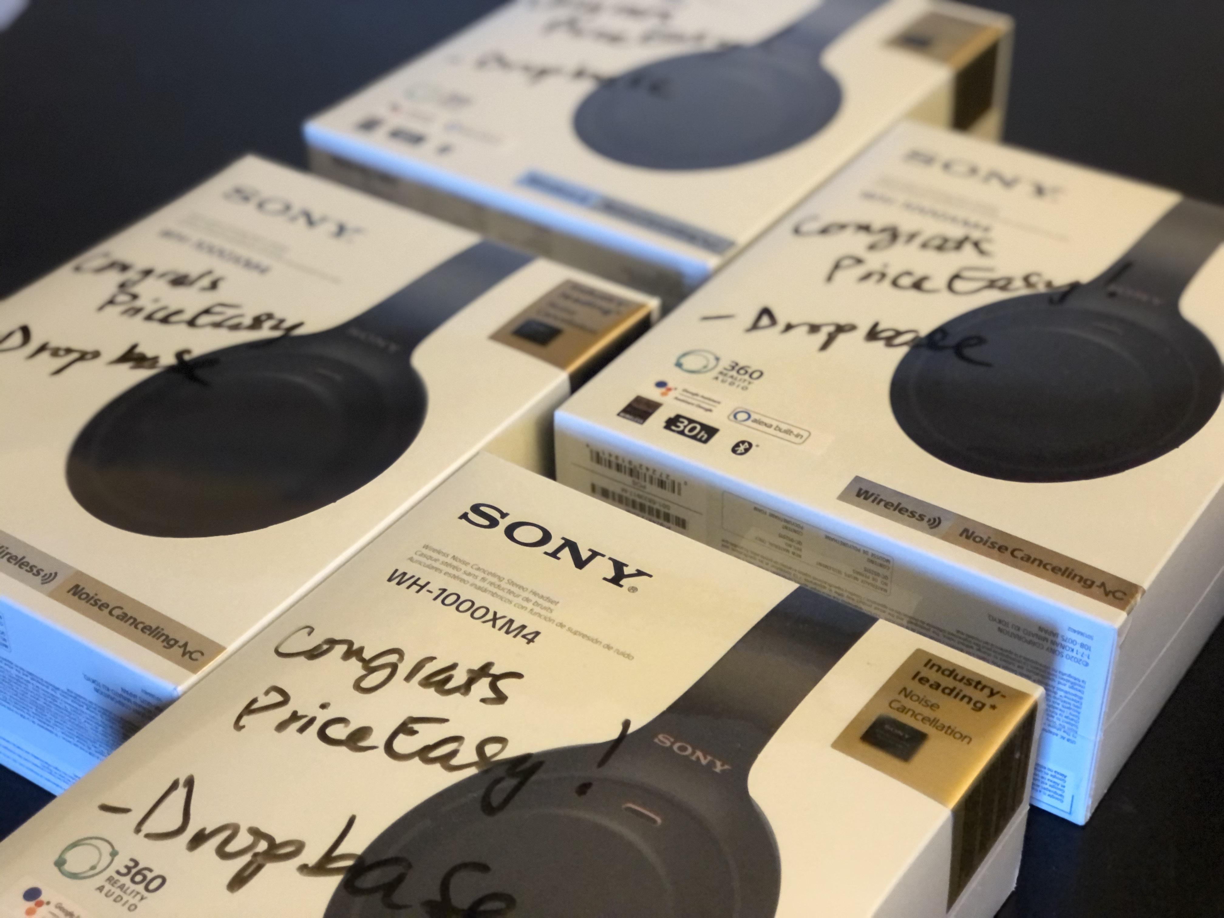 Sony XM4 Headphones for the winning team, PriceEasy