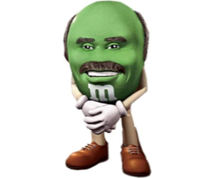 Dr. Phil M&M Fridge Magnet