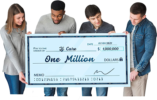 Giant Novelty Cheque