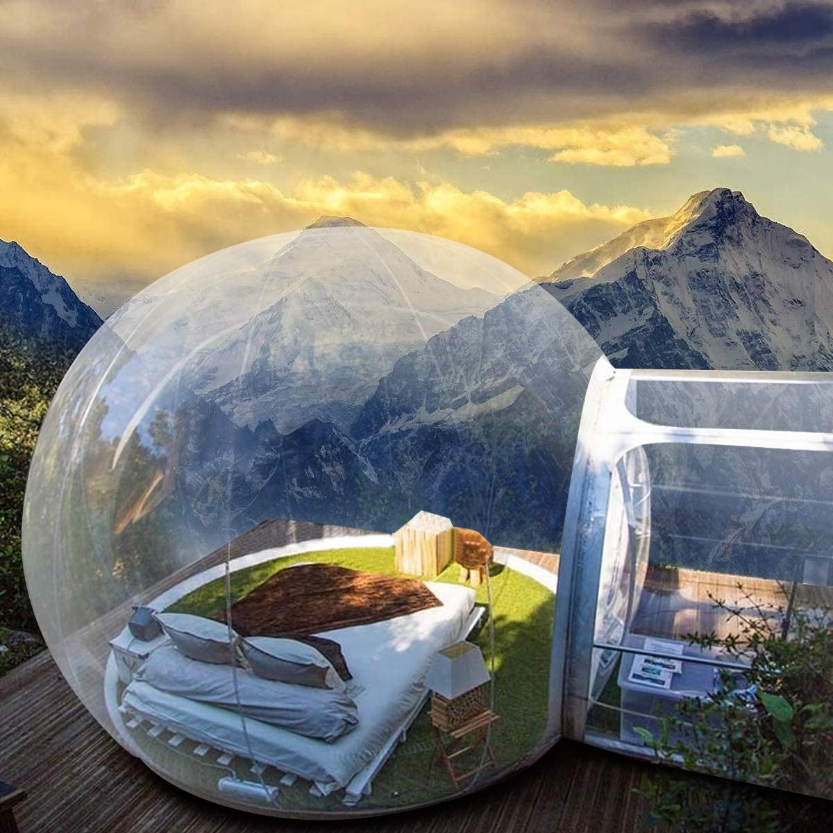 Inflatable Bubble Dome