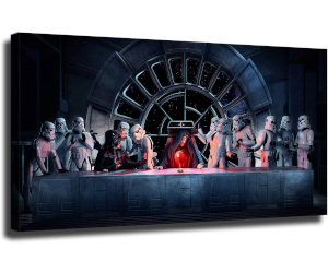 Star Wars Last Supper Canvas