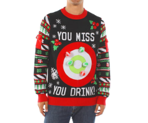 Drinking Game Christmas Sweater