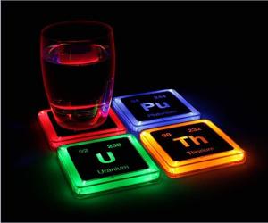 Radioactive Element Coasters