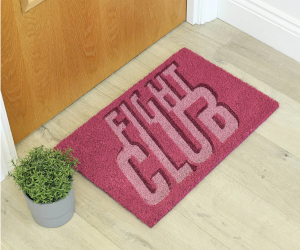 Fight Club Door Mat