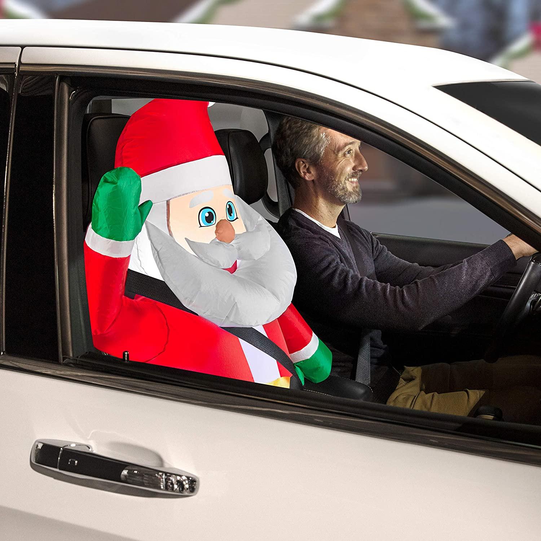 Santa Car Buddy