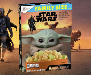 The Mandalorian Cereal