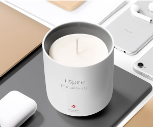 Mac Inspired Candle
