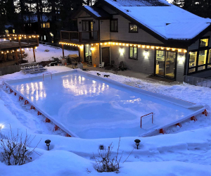Backyard Ice Hockey Rink Kit