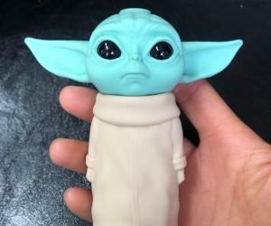 Baby Yoda Pipe