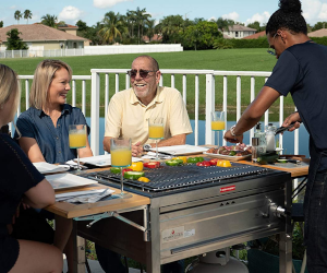 3-in-1 Sit Around Grill