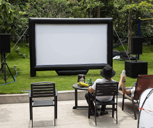 Outdoor Home Theater Screen