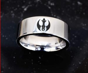 Star Wars Mens Wedding Ring