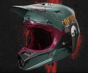 Boba Fett Bike Helmet