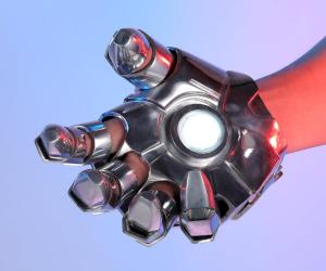 Iron Man Mark 2 Metal Glove