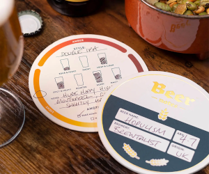 Beer Notes Coasters