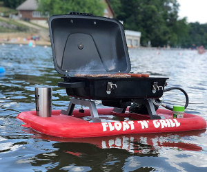 Float'N'Grill Portable Grill