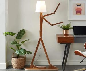 Stick Figure Floor Lamp