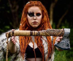 Personalized Viking Axe