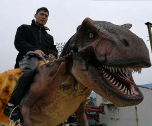 Dinosaur Rider Costume