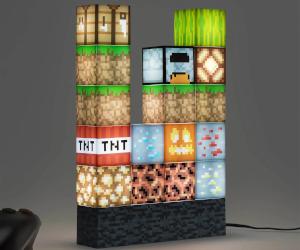 Minecraft Block Building Lamp
