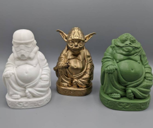 Star Wars Buddha Statues