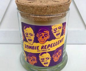 Zombie Repellent Candles