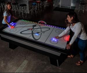 LED Air Hockey Table