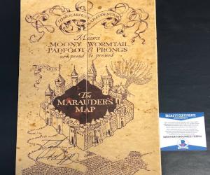 Autographed Marauder's Map
