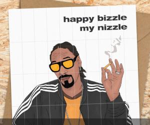 Snoop Dogg Filter Tip Card
