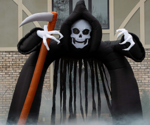 Inflatable Grim Reaper Arch
