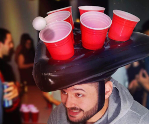 Human Beer Pong