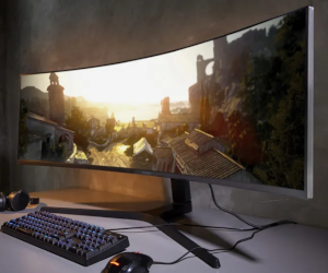 """49"""" Curved Gaming Monitor"""