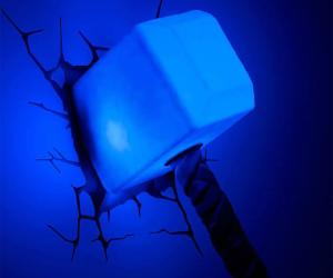 Thor's Hammer Nightlight