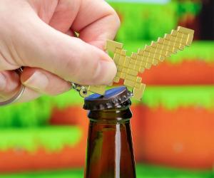 Minecraft Sword Bottle Opener