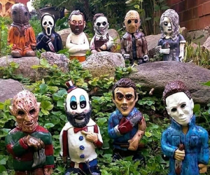 Horror Movie Garden Gnomes