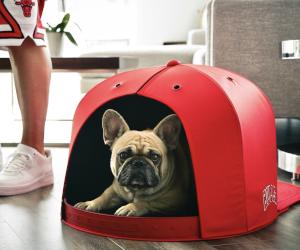 Baseball Cap Pet Bed