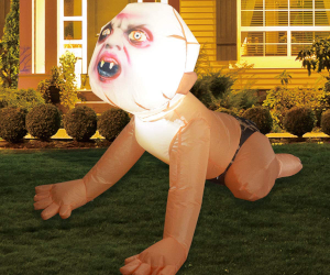 Inflatable Zombie Baby