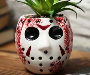 Jason Mask Planter
