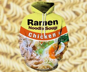 Ramen Noodles Hoodie