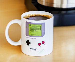Gameboy Heat Changing Mug