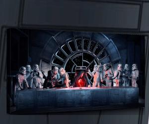 Star Wars Last Supper Canvas