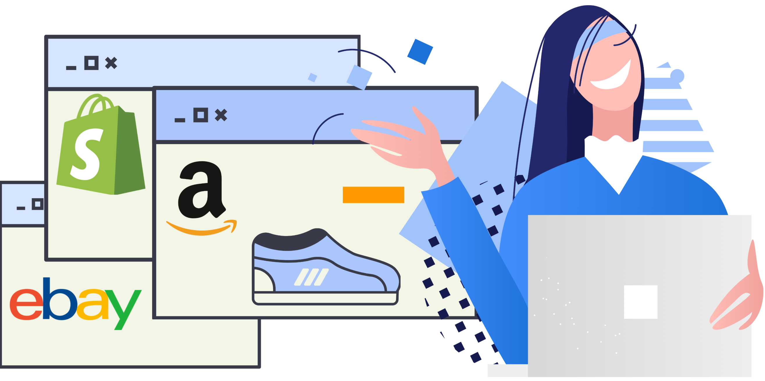 Amazon to eBay and Shopify in under 5 minutes.