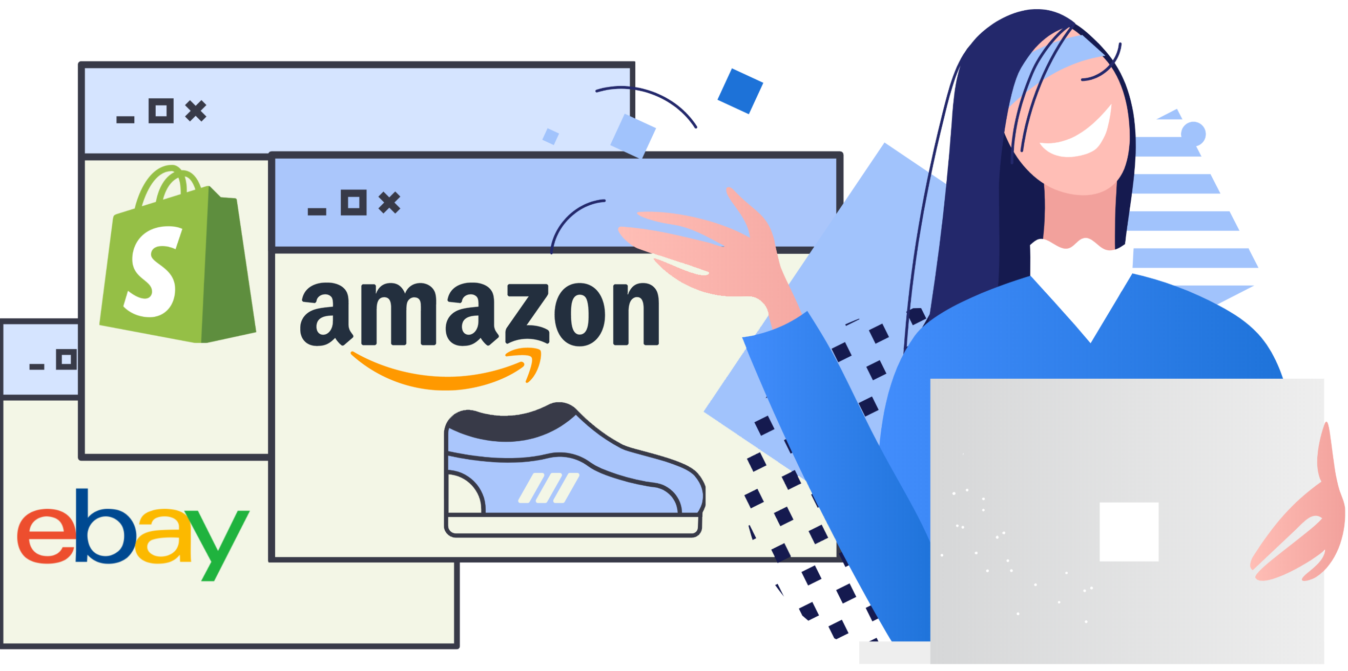Amazon to eBay and now Shopify.In 5 minutes.