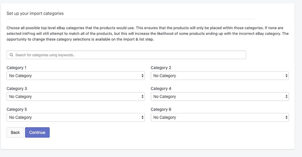 JoeLister compared to InkFrog: Amazon Settings