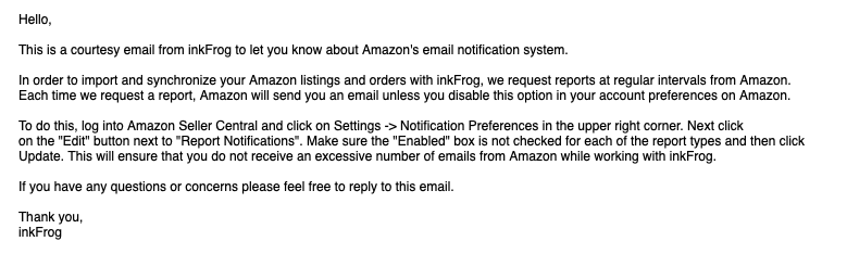 InkFrog Email: You have more settings to mess with!!!
