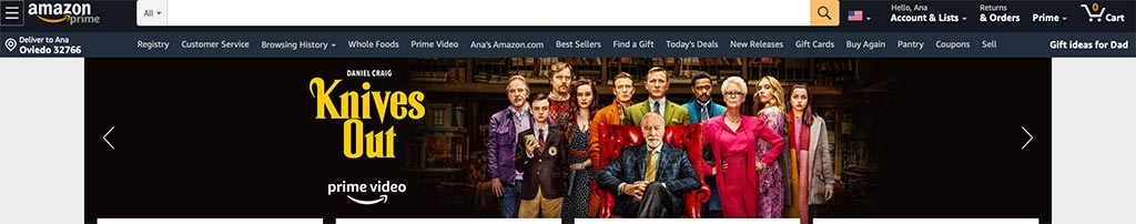 The 7 Best eCommerce Marketplaces for Online Sellers: Amazon Banner